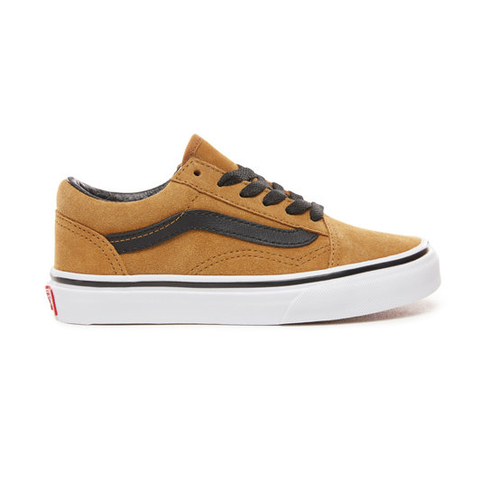 Chaussures Junior en daim Old Skool (4-8 ans) | Vans