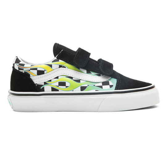 Surf Flame Old Skool V Kinderschoenen (4-8 jaar) | Vans