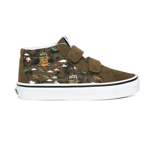 Chaussures+Junior+Dineapple+Floral+Sk8-Mid+Reissue+V+%284-8+ans%29
