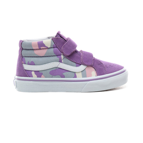 Kids Pastel Camo Sk8-Mid Reissue V Shoes (4-8 years) | Vans