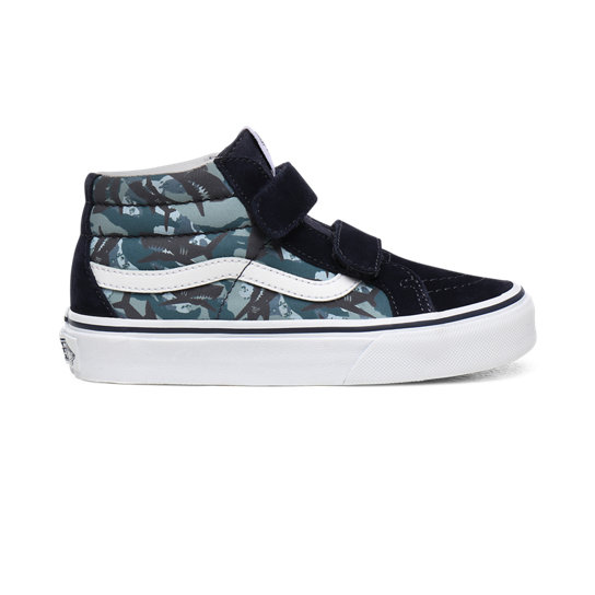 Kids Animal Camo Sk8-Mid Reissue V Shoes (4-8 years) | Vans