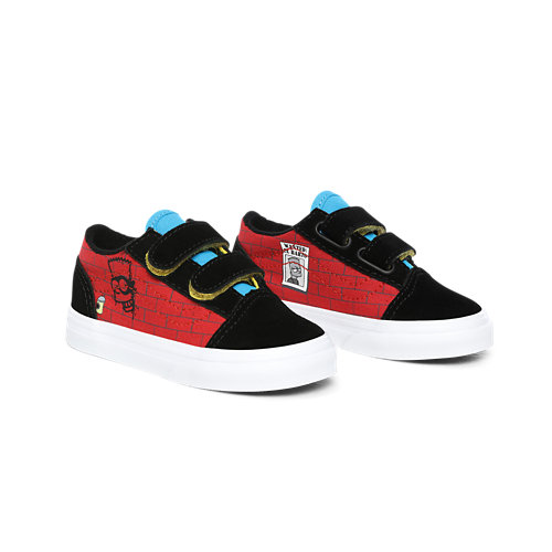Chaussures+Enfant+El+Barto+Old+Skool+V+The+Simpsons+x+Vans+%281-4+ans%29