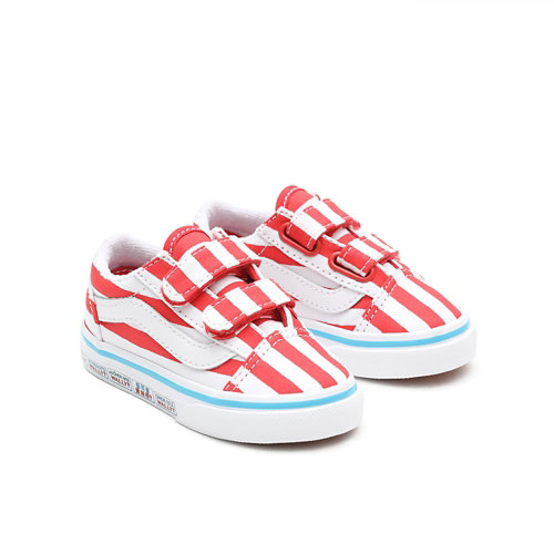 Vans+x+Waar+is+Wally%3F+Old+Skool+V+Peuterschoenen+%281-4+jaar%29