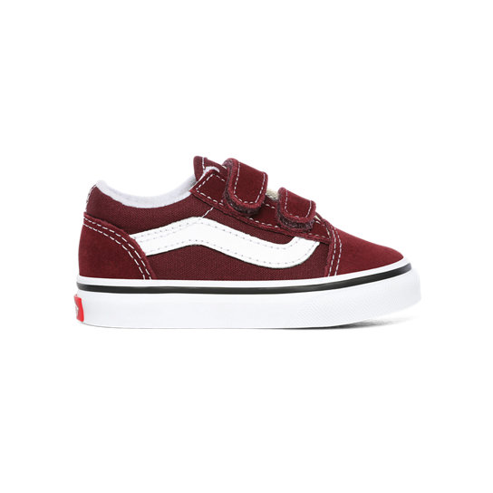 Chaussures Enfant Old Skool V (1-4 ans)   Rouge   Vans