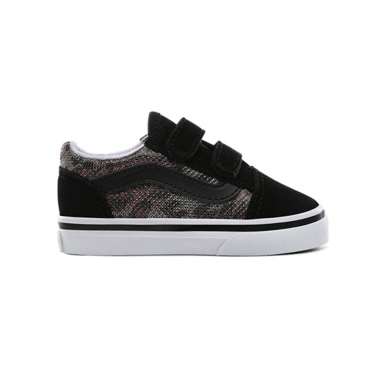 Toddler Leopard Mesh Old Skool V Shoes (1-4 years) | Vans