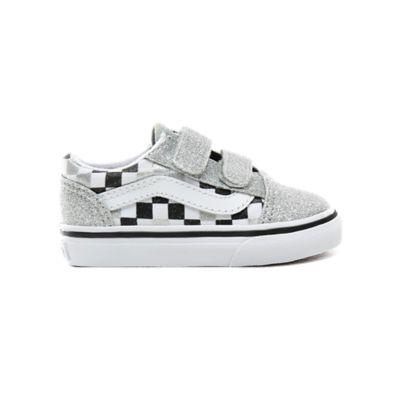 Chaussures Enfant Glitter Checkerboard Old Skool V (1-4 ans)