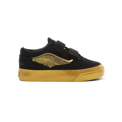 Zapatillas+Golden+Snitch+Old+Skool+V+de+beb%C3%A9+de+Vans+x+HARRY+POTTER%E2%84%A2+%281-4+a%C3%B1os%29