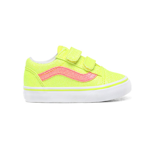 Toddler+Neon+Glitter+Old+Skool+V+Shoes+%281-4+years%29