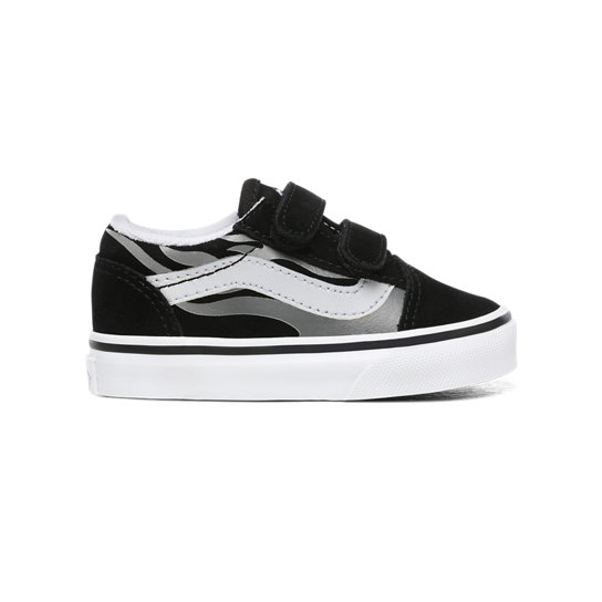 Toddler Suede Flame Old Skool V Shoes (1-4 years) | Vans