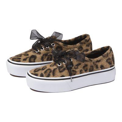 vans leopard platform sneakers