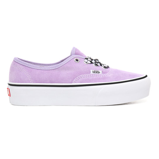 Checkerboard Lace Authentic Platform 2.0 Shoes | Vans