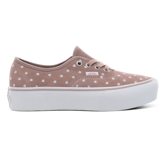 Suede Polka Dot Authentic Platform 2.0 Shoes | Vans