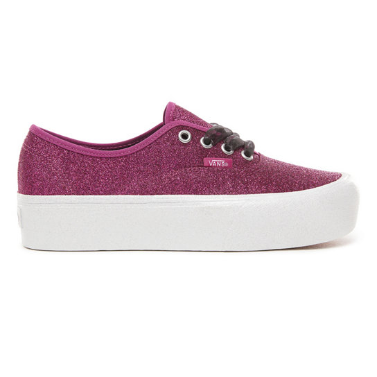 Zapatillas Glitter Authentic 2.0 con plataforma | Vans