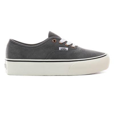 grey vans authentic