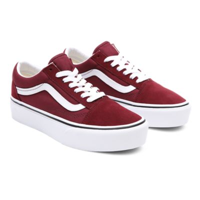 vans old skool bordeaux 38