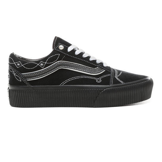 Pearly Punk Old Skool Platform Shoes | Vans