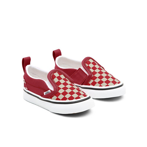 Personalisierbare+Toddler+Checkerboard+Slip-On