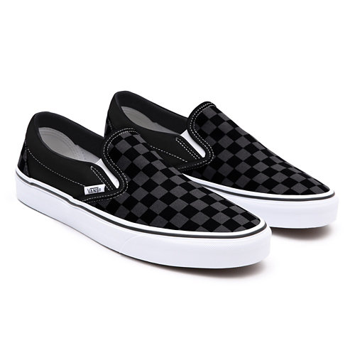 Checkerboard+Slip-On+Personnalis%C3%A9es