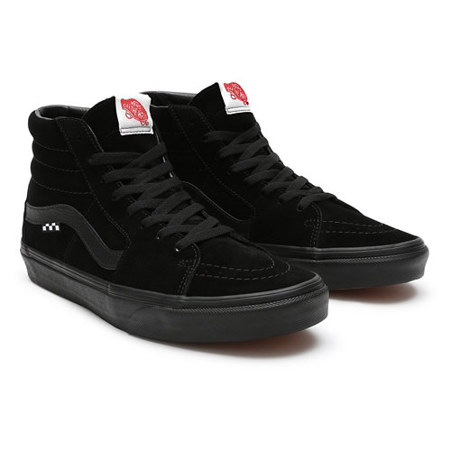 Customs+Total+Black+Sk8-Hi+Skate