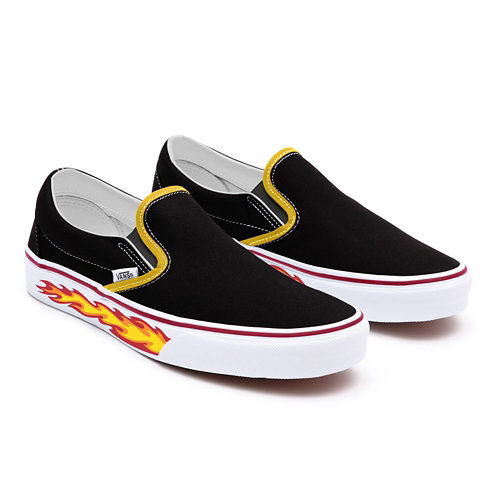 Flame+Slip-On+Personnalis%C3%A9es