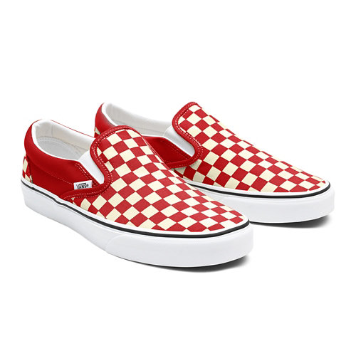Gepersonaliseerde+Checkerboard+Slip-On