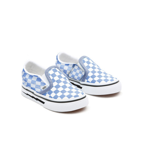 Personalisierbare+Toddler+Skyway+Checkerboard+Slip-On