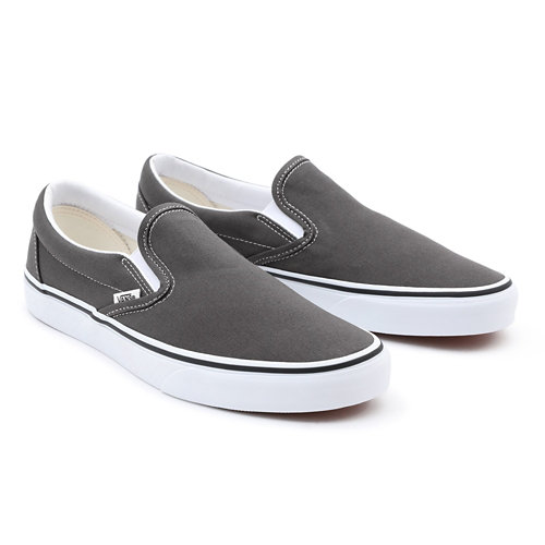 Customs+Grey+Slip-On+Wide