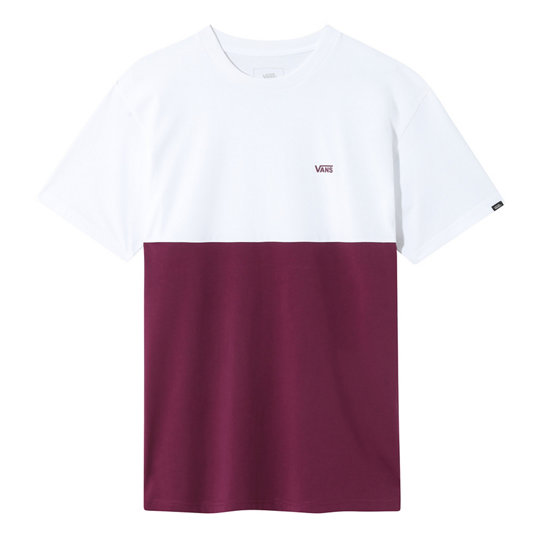 t shirt vans colorblock