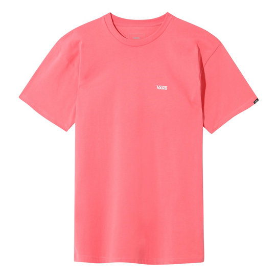 Left Chest Logo T Shirt Pink Vans