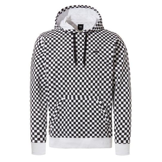 black checkered vans hoodie