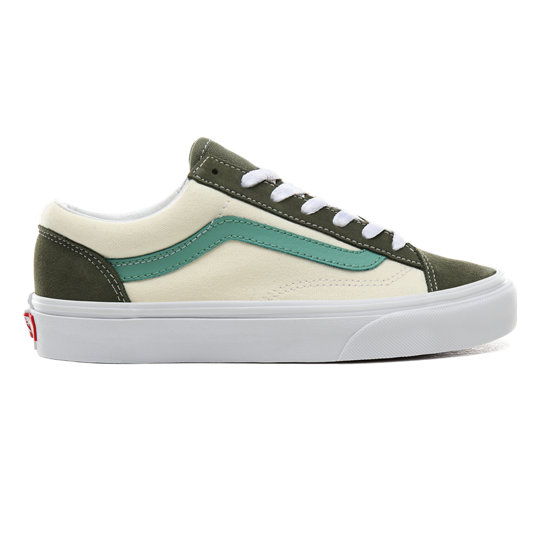 Vans Surf Style Schuhe 42 grün Sneaker