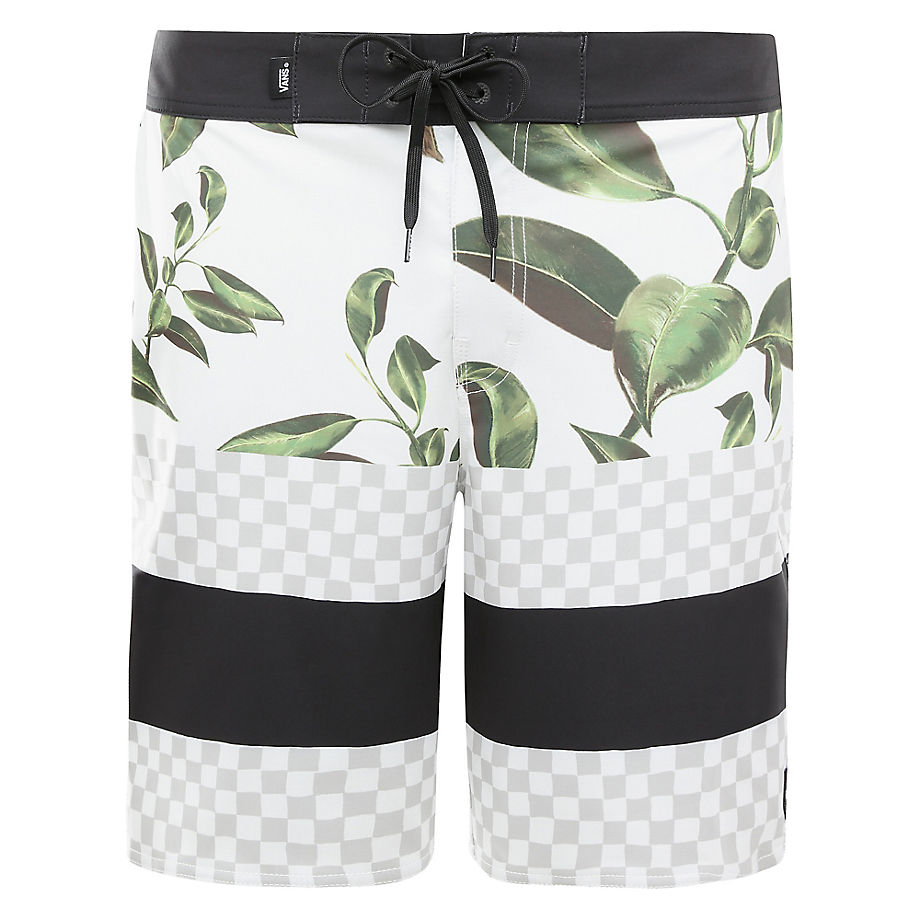 VANS Short De Bain Era 48cm (rubber Co. Floral-white) Homme Multicolour, Taille 30