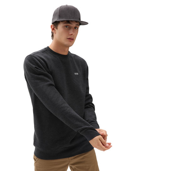 Basic Fleece Sweater mit Rundhalsausschnitt | Vans