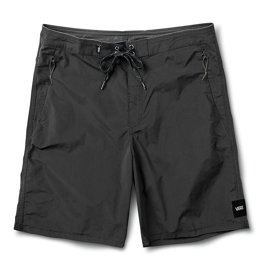 VANS Short De Bain Voyage 47cm (noir) Homme Noir, Taille 34