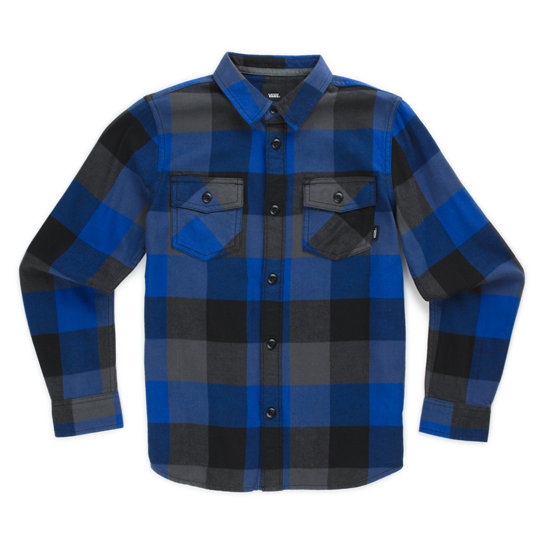 Kids Box Flannel Shirt (2-7 years) | Vans