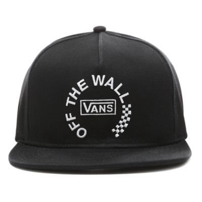 0256bb13 OTW Distort Snapback Hat | Black | Vans