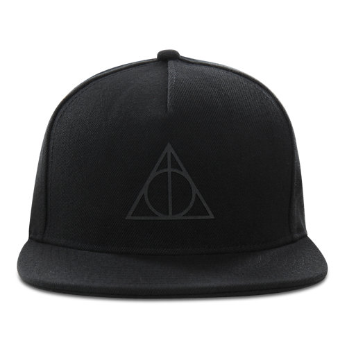 Vans+x+HARRY+POTTER%E2%84%A2+Deathly+Hallows+Snapback+Hat