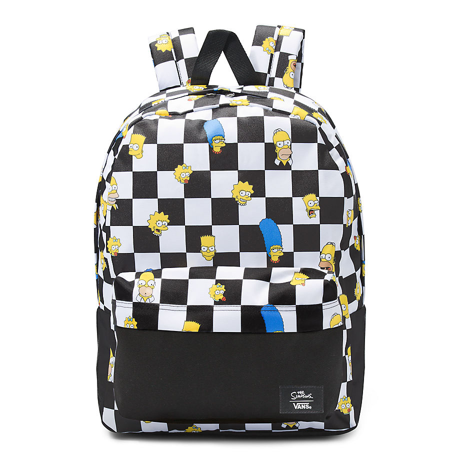 Sac À Dos Old Skool Iii The Simpsons X ((the Simpsons) Family Checkerboard) , Taille TU - Vans - Modalova