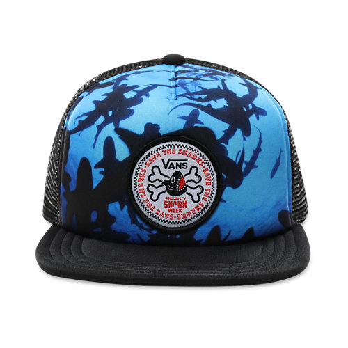 Kids+Vans+x+Shark+Week+Trucker+Hat+%288-14%2B+years%29
