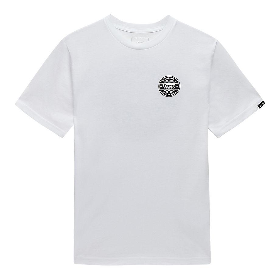 ba67818c3 VANS Kids Checker Co. Short Sleeve T-shirt (8-14+ Years) (white-black) Kids  White, Size XL - £18.00 - Bullring & Grand Central