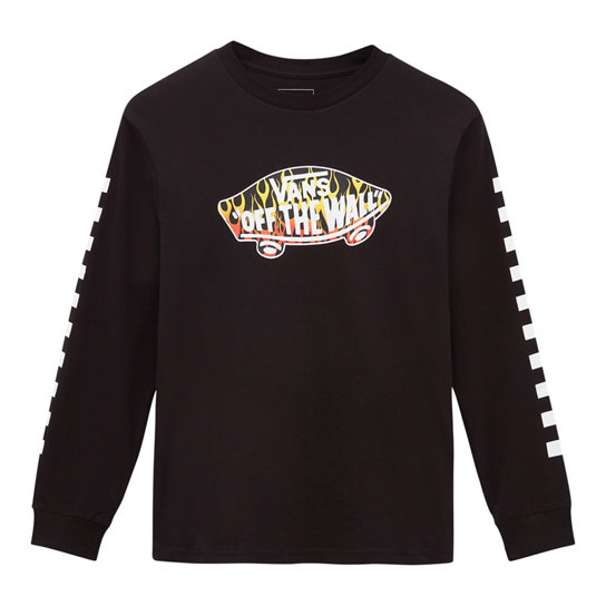 Kids OTW Check Long Sleeve T-shirt (8-14+ jaar) | Vans