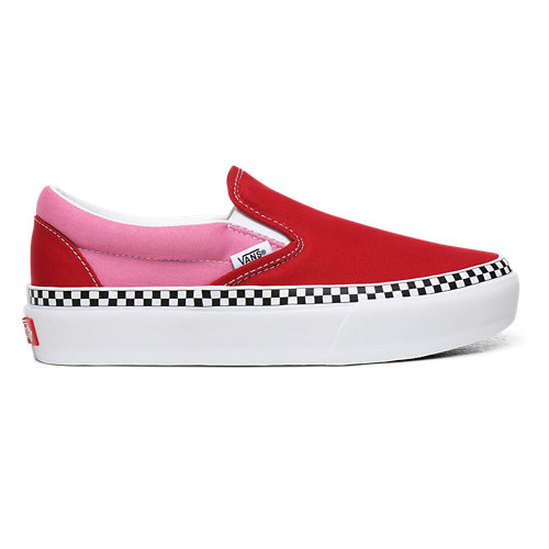 2-Tone+Classic+Slip-On+Platform+Shoes