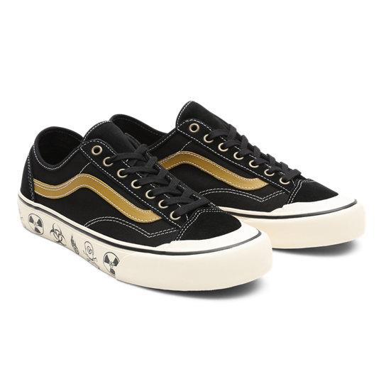Dark Aloha Style 36 Decon SF Shoes | Black | Vans