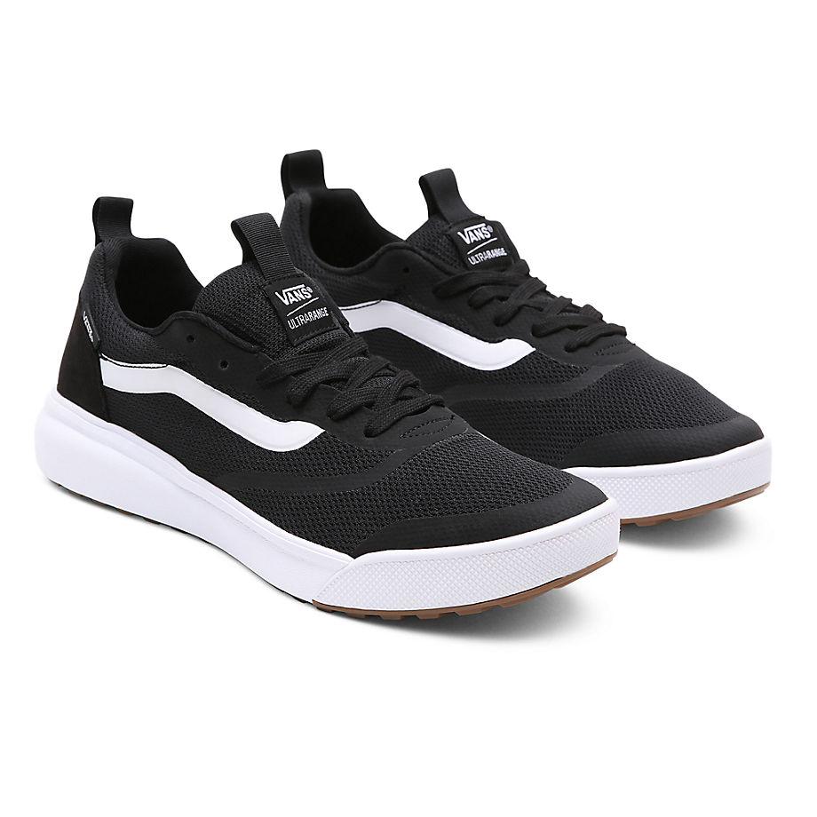 VANS Ultrarange Rapidweld Shoes (black-white) Men Black, Size 6.5