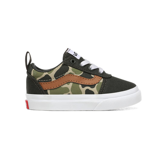 Toddler Frog Camo Ward Slip-On Shoes (1-4 years) | Vans
