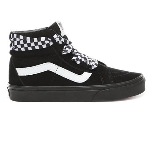 Check+Wrap+Sk8-Hi+Alt+Lace+Shoes