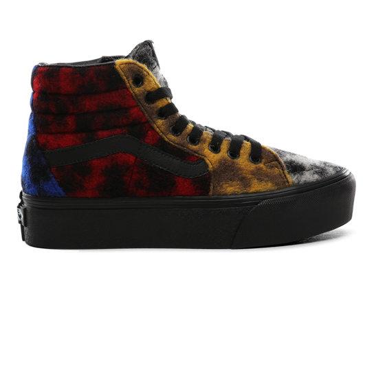 Mix Leopard SK8 Hi Platform 2.0 Shoes | Multicolour | Vans