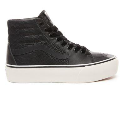 Chaussures Leather Sk8 Hi Platform 2.0