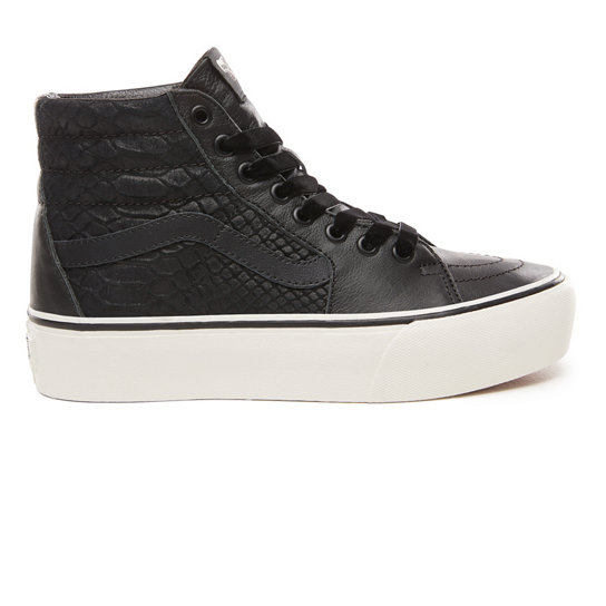 Chaussures Leather Sk8-Hi Platform 2.0 | Vans