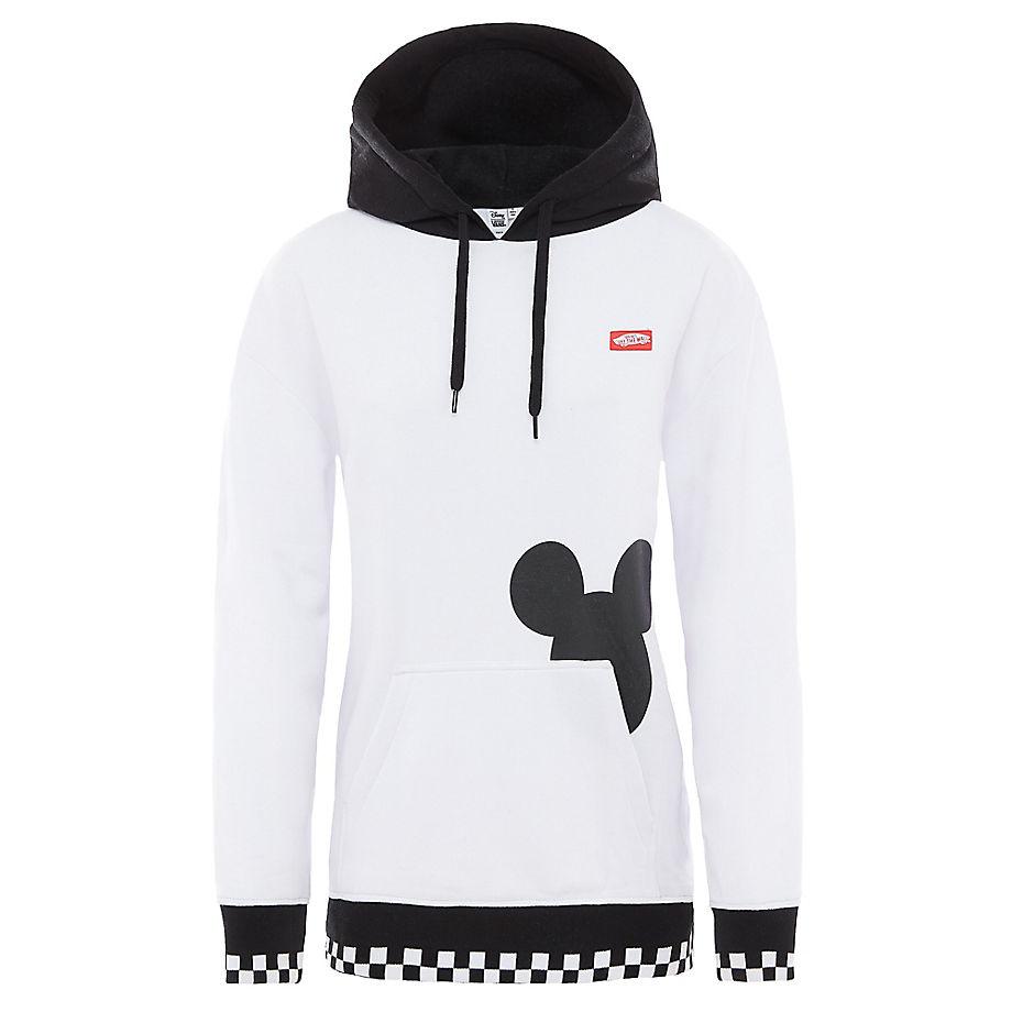 Sweat À Capuche Disney X Checkerboard Mickey (white/black) , Taille L - Vans - Modalova
